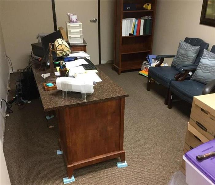 Unintended 'Water Closet' In Accounting Office After