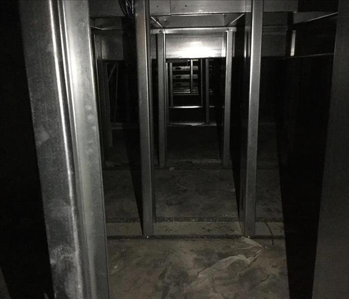 Harvey Flooded Basement In Pasadena After