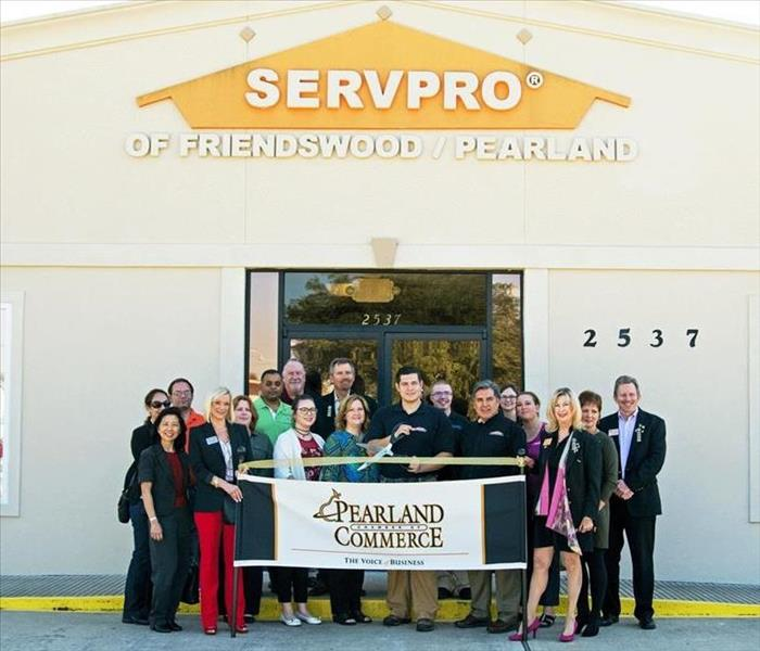 Pearland Chamber of Commerce Ribbon Cutting