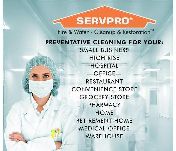 We can help clean your home or business.