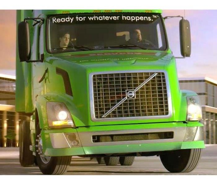 18 wheeler truck driven by company employee